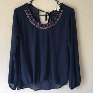 Francesca's blouse in very good condition